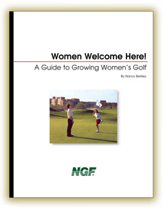 Book - Consulting service for female golfers and golf resorts.